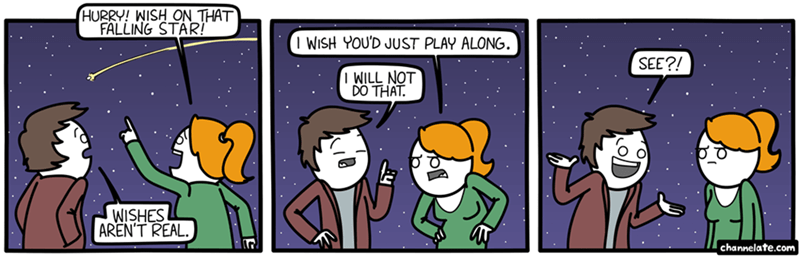 web comics wishes stars I Wish I May, I Wish You Might