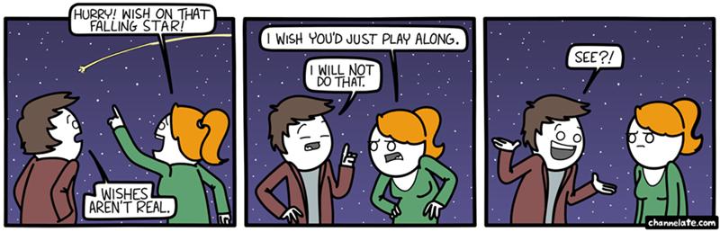 web comics wishes stars I Wish I May, I Wish You Might