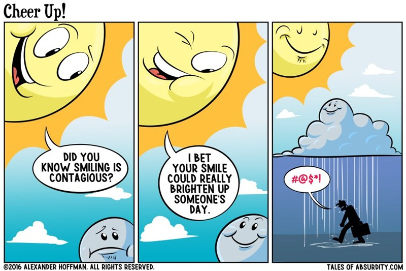 smiling cloud web comics
