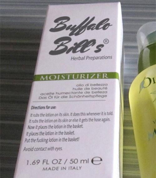 buffalo bills moisturizer