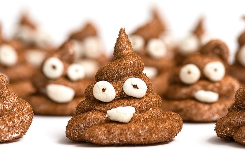 poop emoji marshmallows for easter