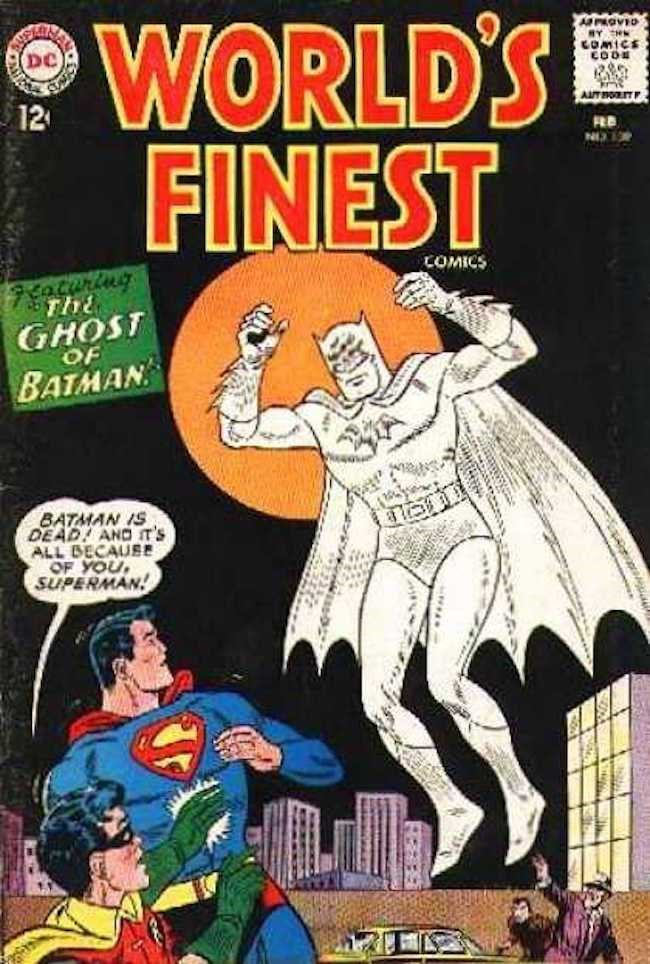 comics superheroes batman That Time Batman Was a Ghost