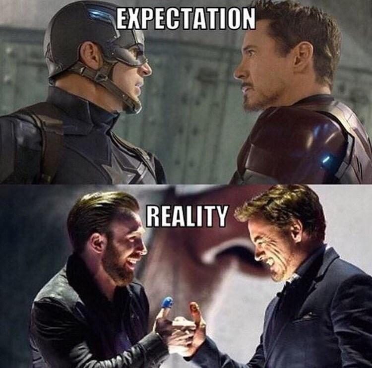 captain america iron man Captain America: Thumb War