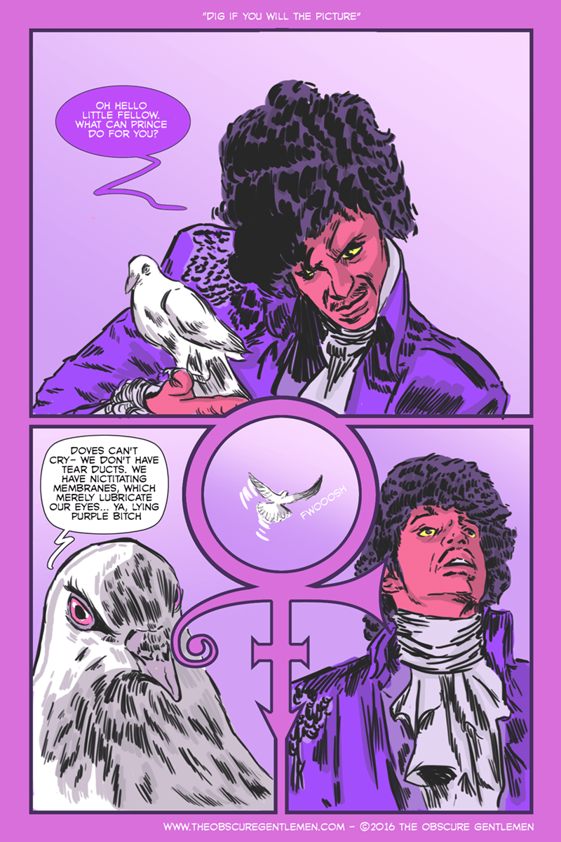 prince web comics doves So This is What it Sounds Like When Doves Cry
