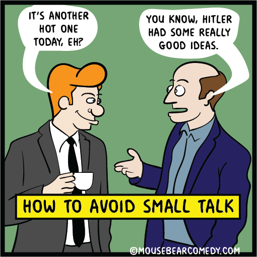 web comics smalltalk work Of Course, This Has Potential to Backfire in a Really Bad Way