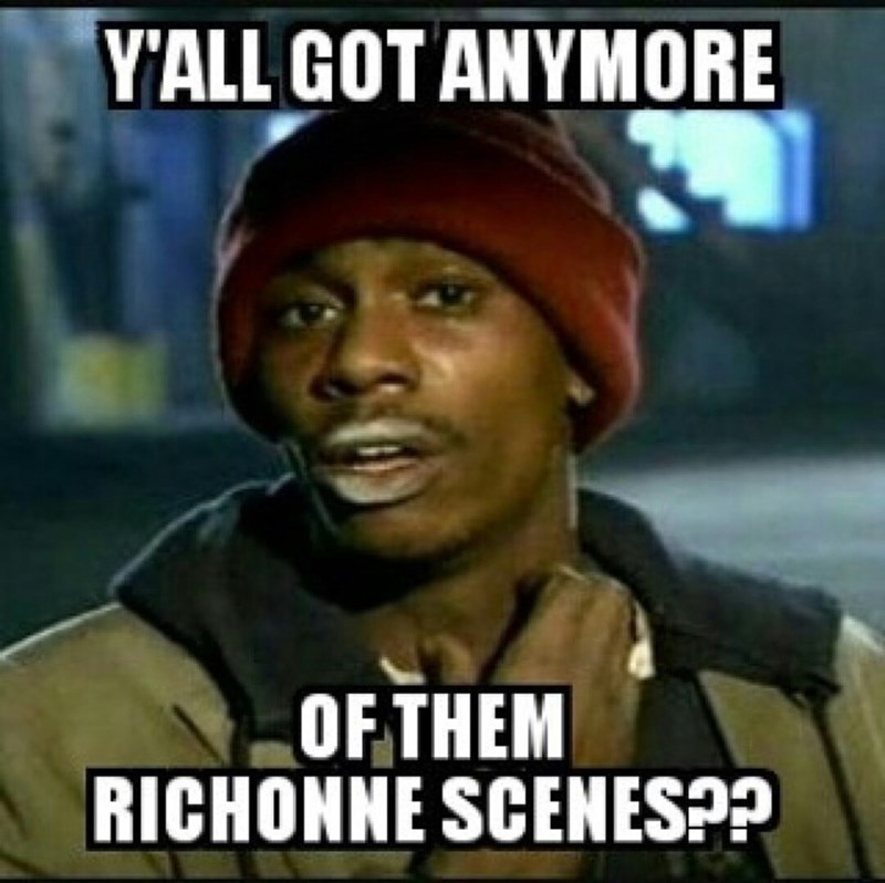 got any more of them richonne scenes