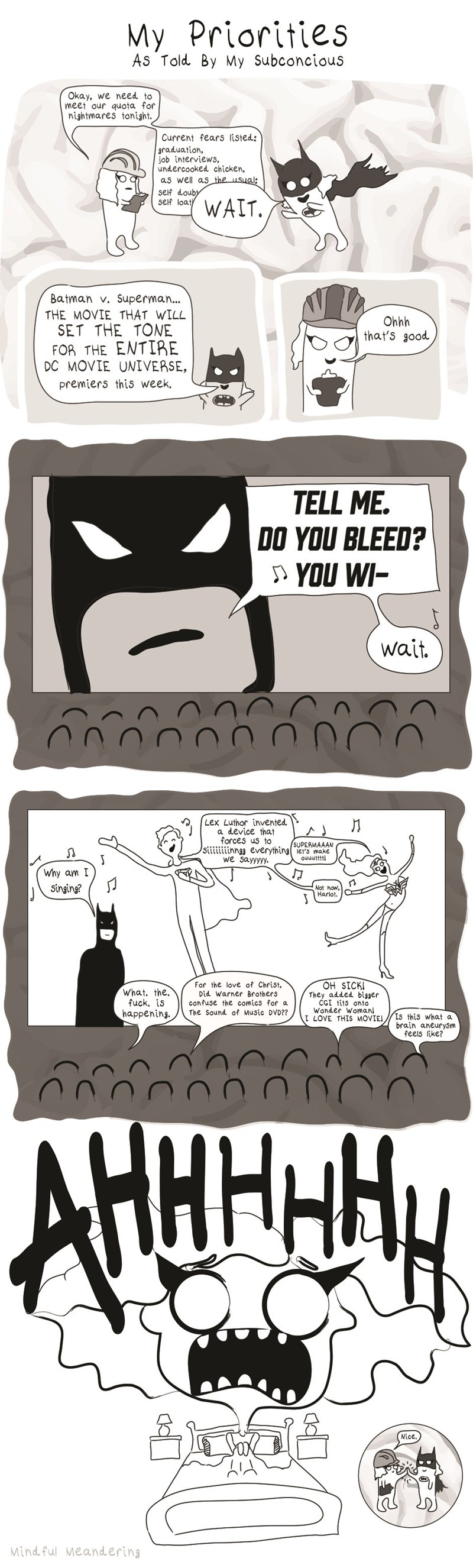 web comics batman v superman nightmares It Is About Time for a Superhero Musical...