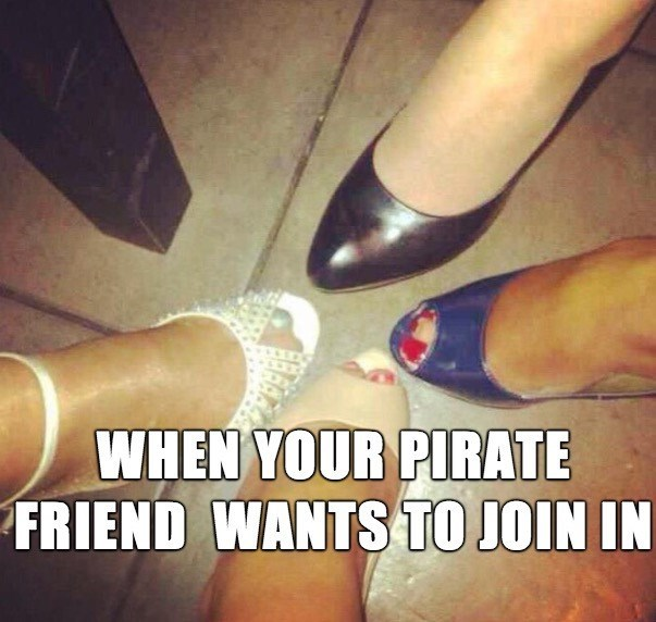 shoes,Pirate