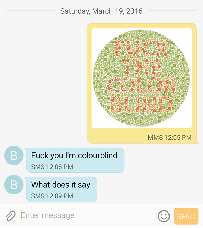 trolling,colorblind