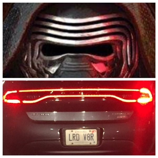 star wars vanity plate license plate - 8761120000