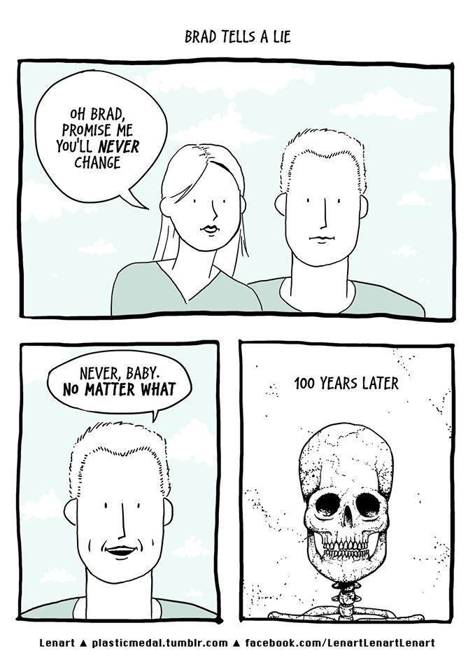 Death,aging,web comics