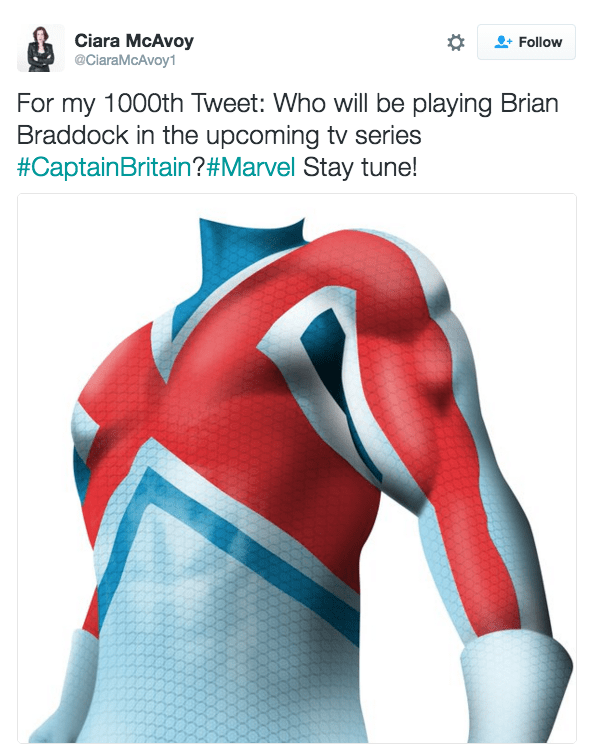 superheroes marvel tv Captain Britain May Be Getting a Marvel TV Series