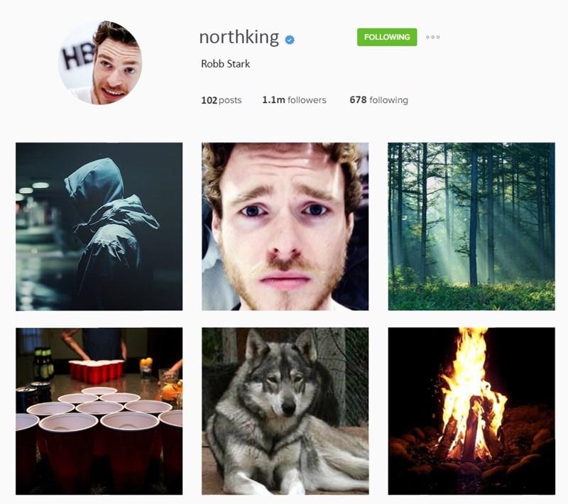 Adaptation - northking FOLLOWING ooo НЕ Robb Stark 678 following 1.1m followers 102 posts