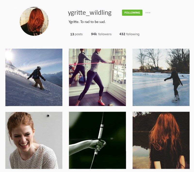 Joint - ygritte_wildling FOLLOWING oo o Ygritte. To rad to be sad. 94k followers 432 following 13 posts
