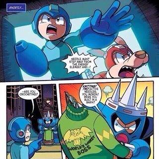 mega man needle man video games web comics - 8761478656