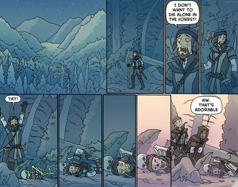 survival Death alone web comics - 8761491712
