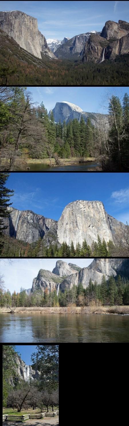 Spring in Yosemite 2016