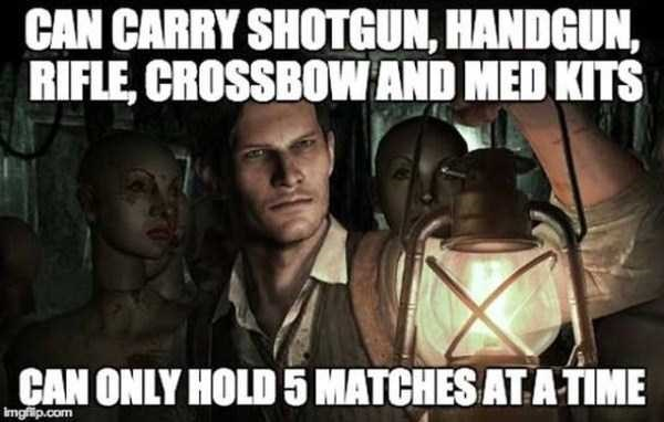 video games,the evil within,gamer logic