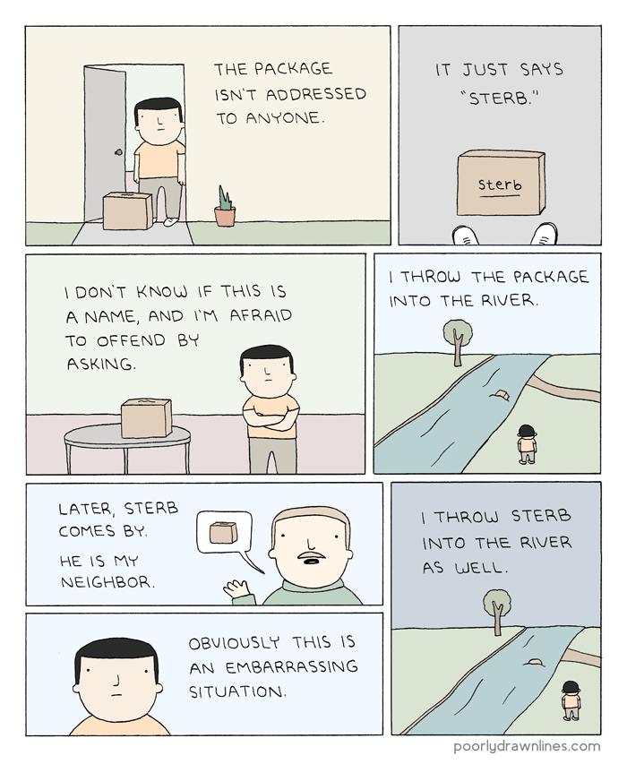 Di-sterb-ing Logic