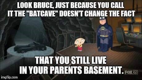 batcave stewie griffin batman - 8761660416