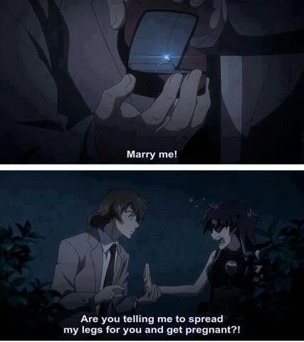 anime memes marry me get pregnant