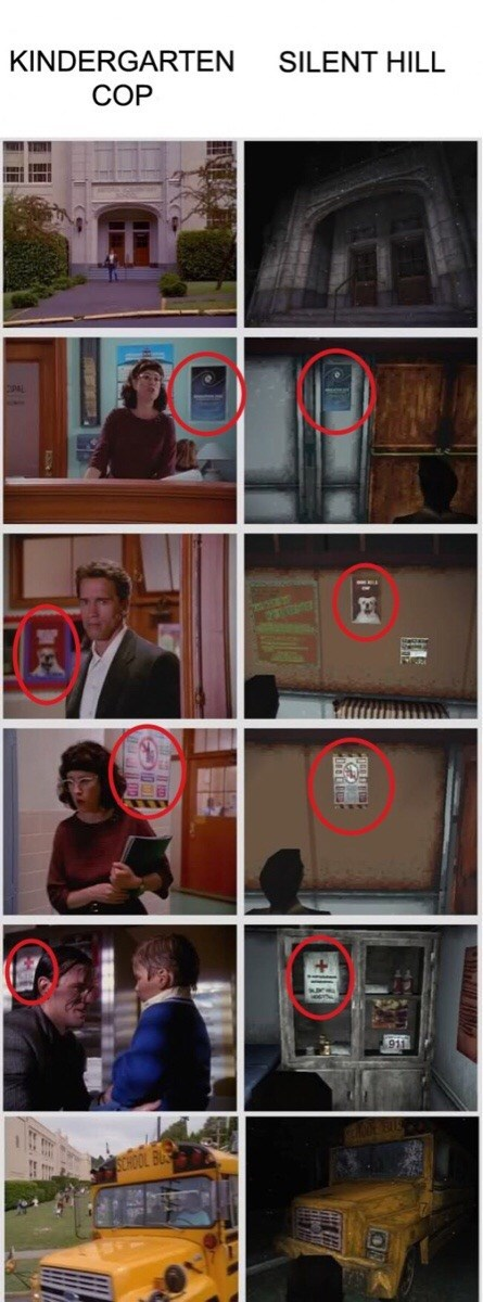 silent-hill-vs-kindergarten-cop-similarities-crazy