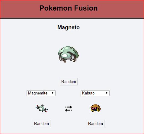 Magneto pokemon fusion - 8761861120