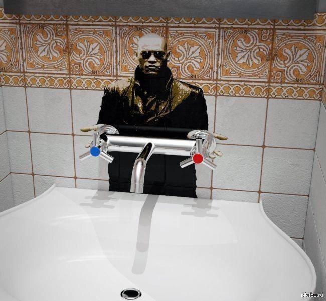 the matrix faucet