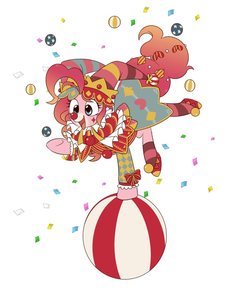 clown pinkie pie - 8762092032