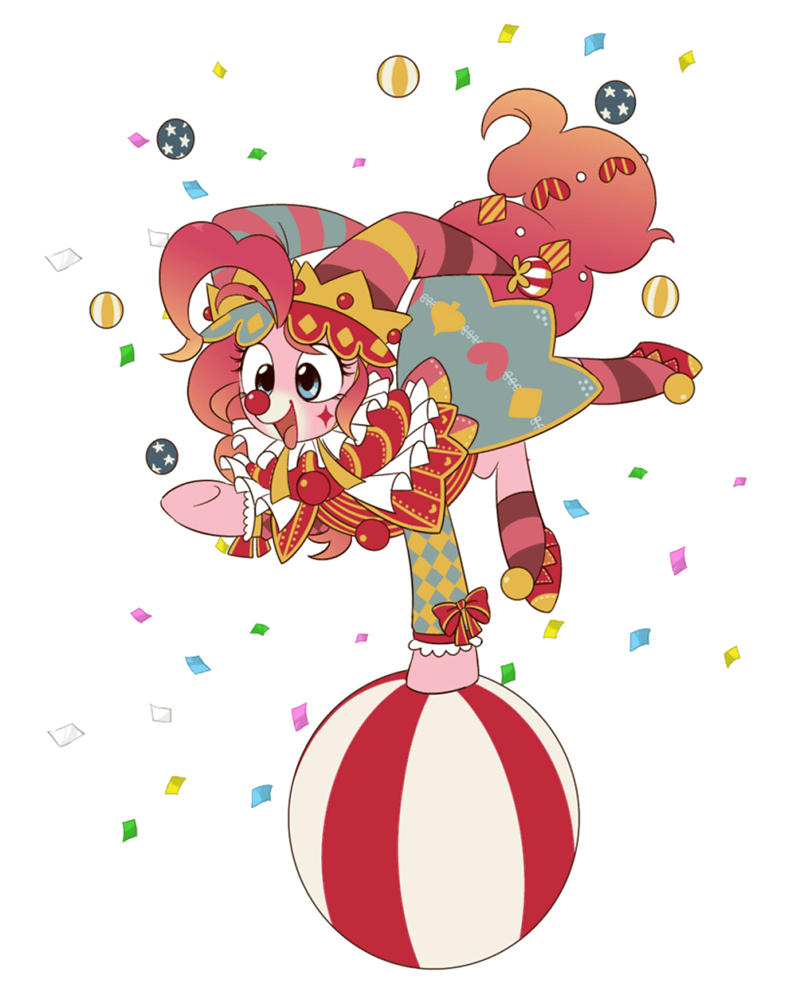 clown pinkie pie - 8762092032