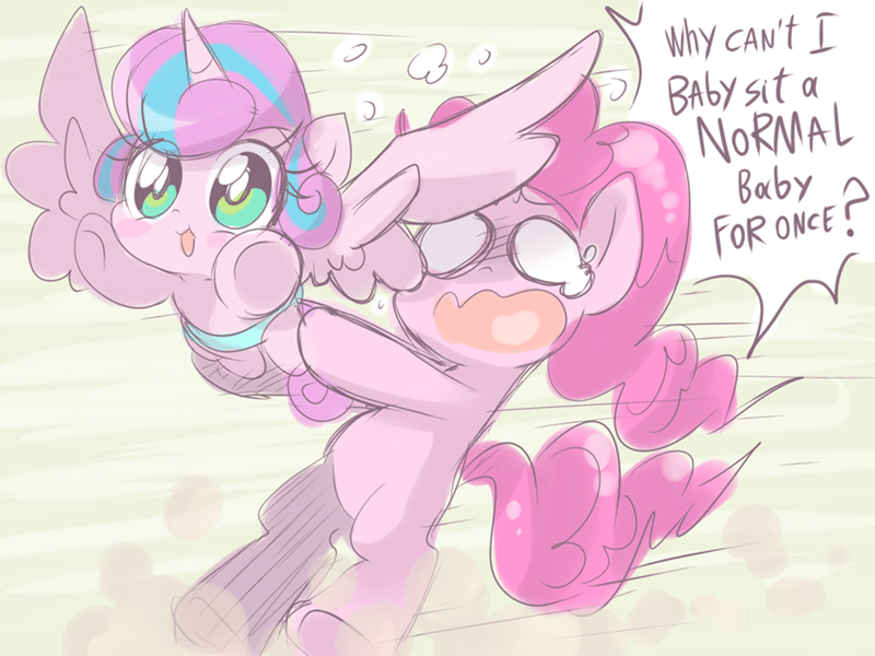 flurry heart the crystalling pinkie pie - 8762161408