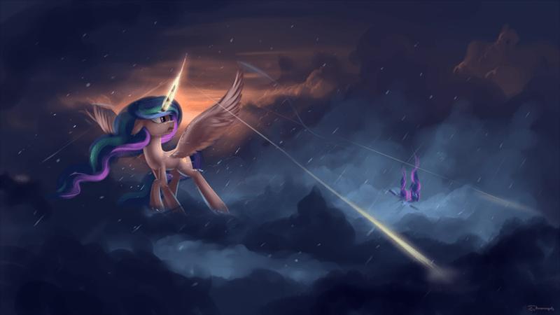 the crystalling princess luna princess celestia - 8762166528