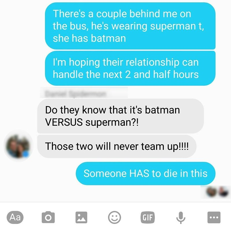 batman v superman dating Maybe, Just Maybe, They WILL Team up Agains an Even Bigger Foe... Like Dirty Dishes