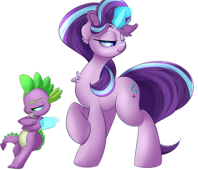 spike starlight glimmer the crystalling - 8762296832