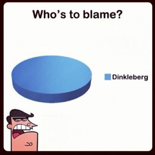 cartoon memes whos to blame dinkleberg