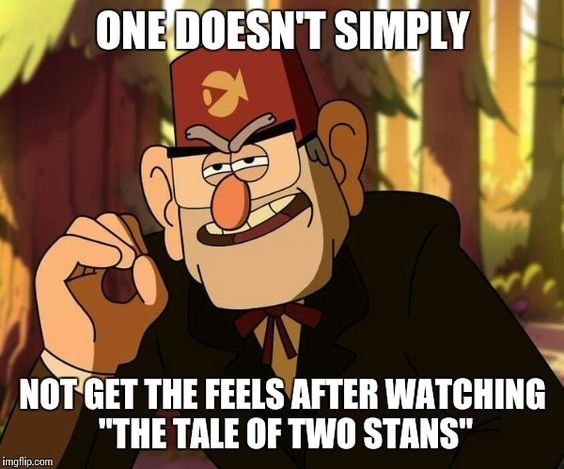 cartoon memes the tale of two stans feels