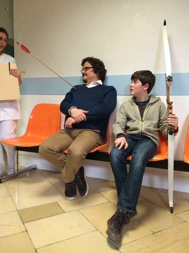 funny parenting fail image next-time-dad-gets-to-be-legolas