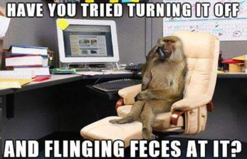 tech support it monkey - 8762540288