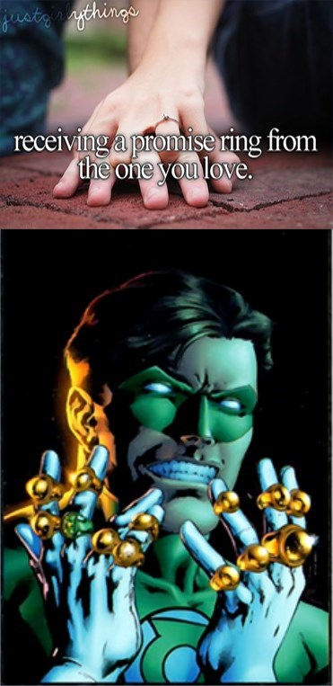 rings love Green lantern - 8762566656