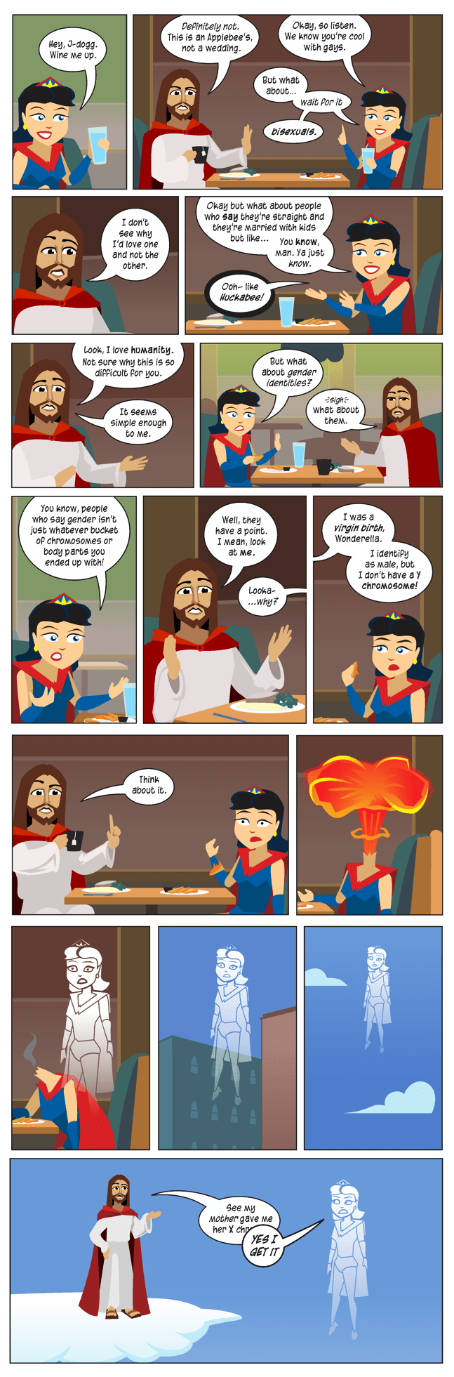 jesus,religion,hippies,web comics