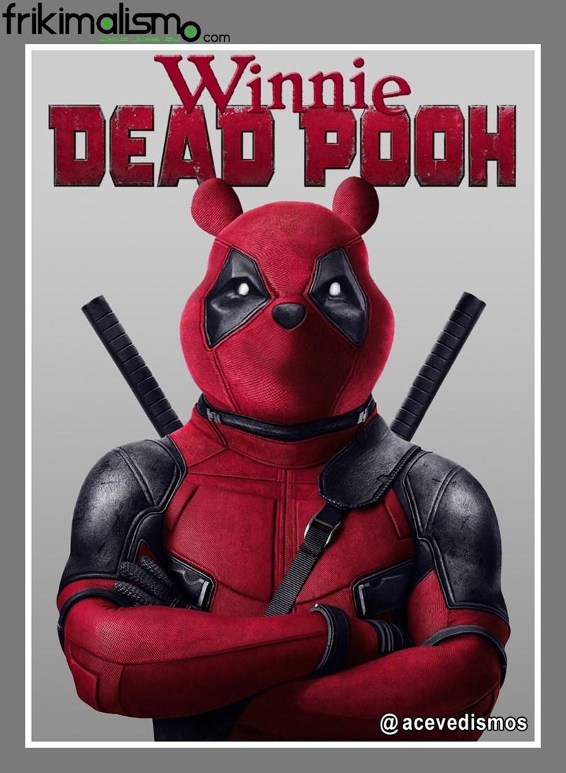 puns,dead pool,winnie the pooh,image