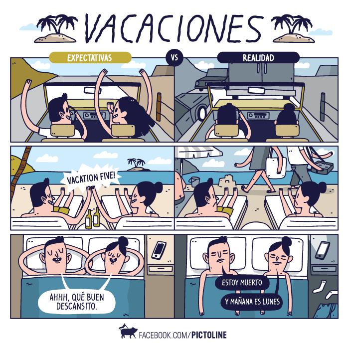 vacaciones son