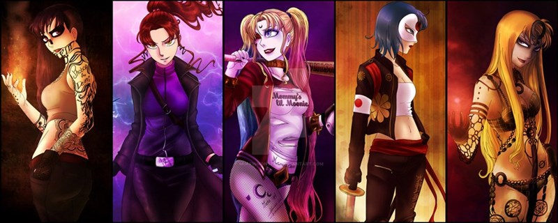 DC anime cartoons Harley Quinn - 8762773248