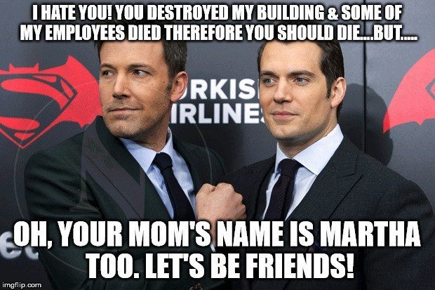 spoilers,Memes,Batman v Superman