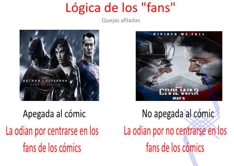 logica de los fans