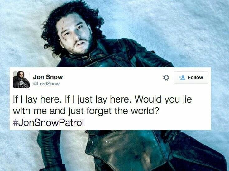 jon snow patrol