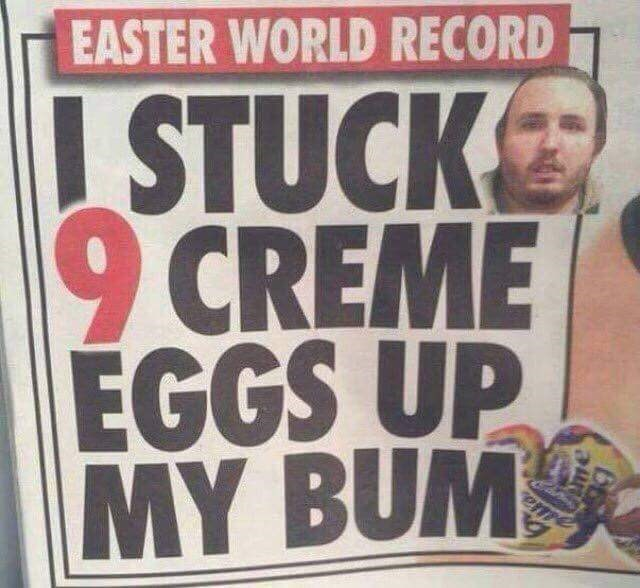 creme-eggs-crime-bum-crazy