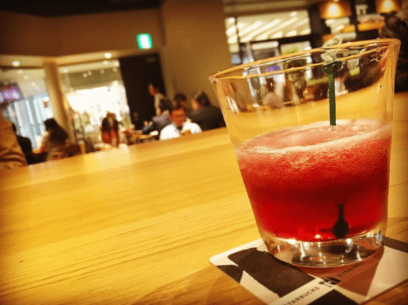 starbucks wine food Starbucks Japan Is Introducing Frozen 'Wine Fragginos' to Their Evening Menu