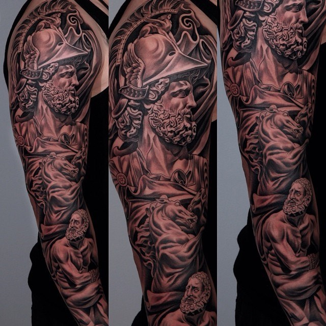 greece sleeve tattoo win - 8763087872