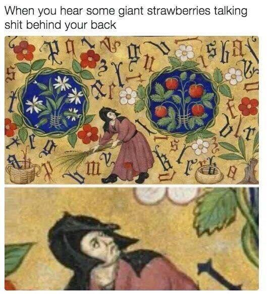 strawberries historical memes - 8763100160